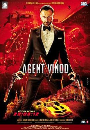 Agent Vinod (2012) - All Movie Song Lyrics