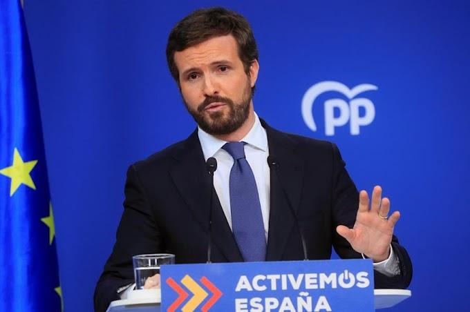 🔴 El Partido Popular califica las tensiones con Marruecos de ''irresponsabilidad histórica con un socio tan importante'' pero calla ante las pretensiones marroquíes sobre Ceuta y Melilla.