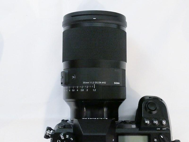 Объектив Sigma 35mm f/1.2 DG DN Art и Panasonic Lumix S1R