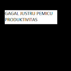 GAGAL JUSTRU PEMICU PRODUKTIVITAS