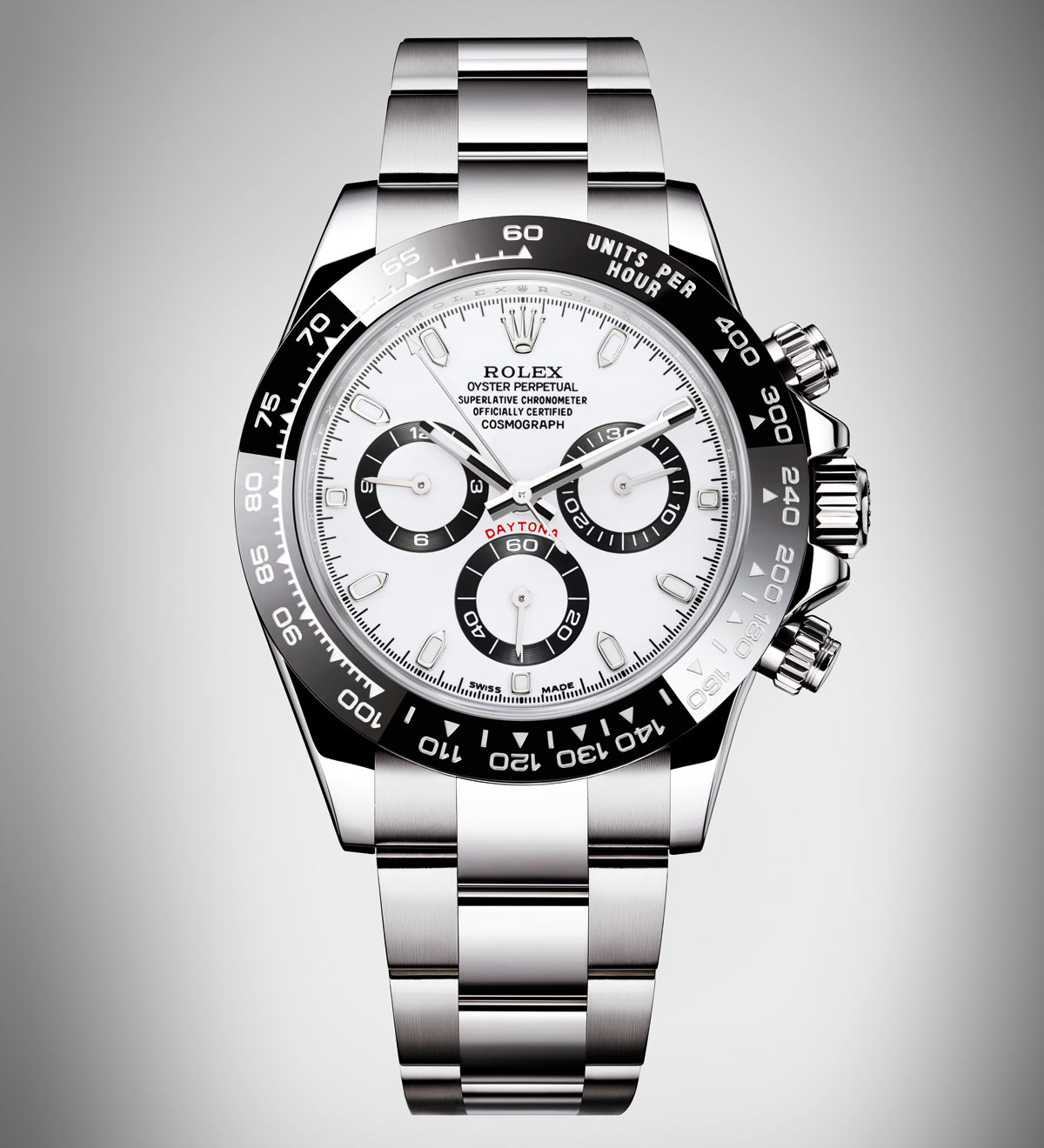 rolex cosmograph daytona steel with black cerachrom. Black Bedroom Furniture Sets. Home Design Ideas