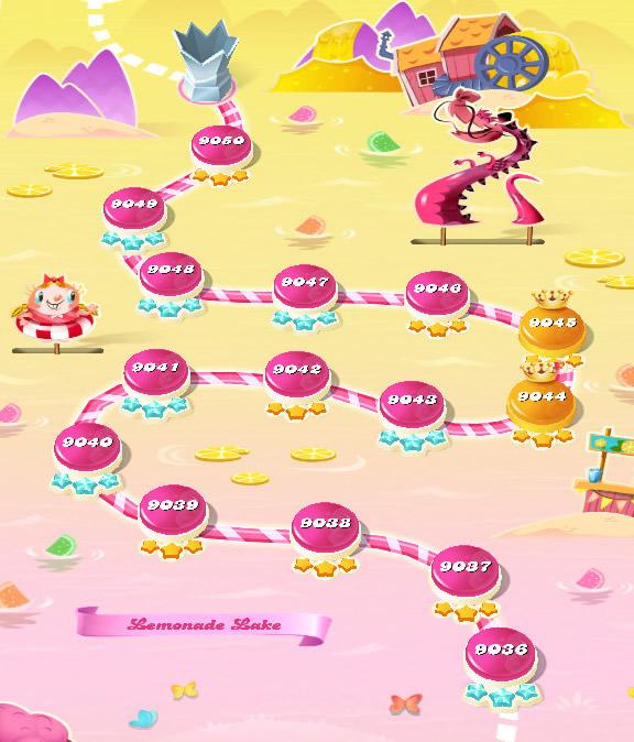 Candy Crush Saga level 9036-9050