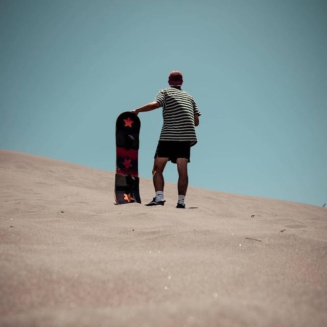 Bermain selancar pasir Jogja | Wisata lebaran 2019