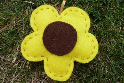 Sunflower lavender bag