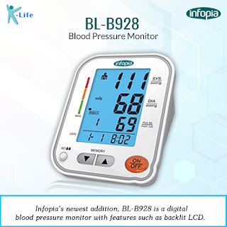 Blood Pressure Machine - Klifecare