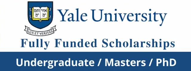 منح جامعة ييل 2021 في الولايات المتحدة الأمريكية (ممولة بالكامل)