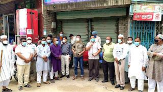 দিনাজপুর জেলা করোনা প্রতিরোধ কমিটির উদ্যোগে শহরের ১২টি ওয়ার্ডে সচেতনতা পথসভা অনুষ্ঠিত