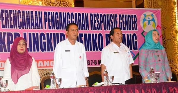 Pemko Padang Prioritaskan Pengarusutamaan Gender Melalui PPRG