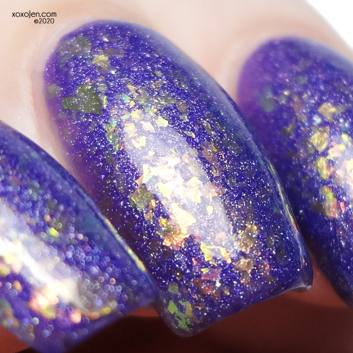 xoxoJen's swatch of KBShimmer Coulda Had A Bad Witch
