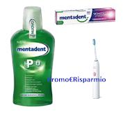 Logo Mentadent ''Raddoppia il sistema di prevenzione'': vinci 1.000 spazzolini elettrici Philips Sonicare