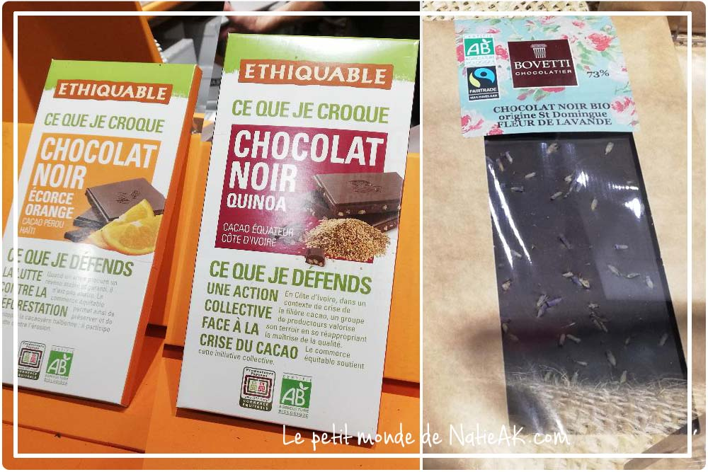 chocolat noir  bio Bovetti