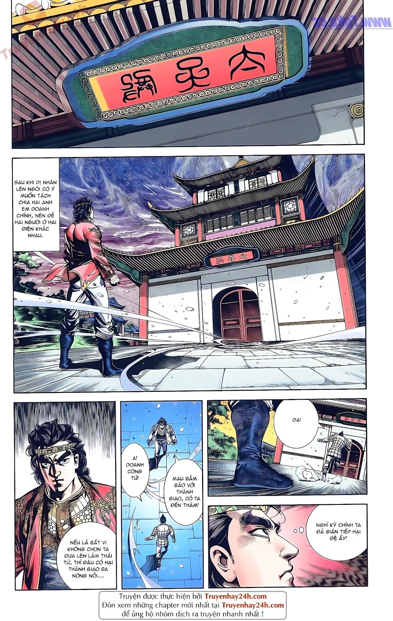 Tần Vương Doanh Chính chapter 50 trang 26