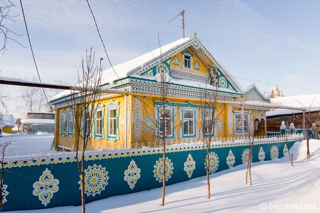 деревянное зодчество татарстан
