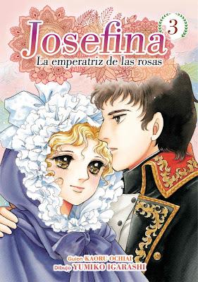 Review del manga Josefina: La emperatriz de las rosas - Editorial Arechi