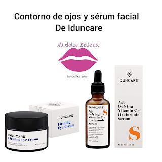 Contorno de ojos - serum Iduncare