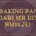 BAKING PAN DARI MR DIY RM10 JE!