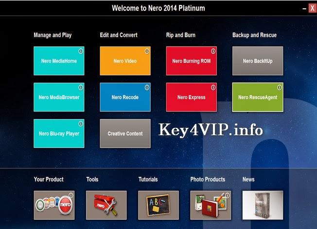 Bán key Nero Platinum 2014