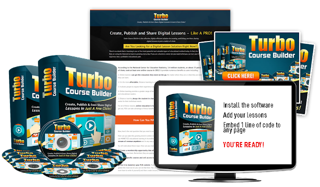 [GIVEAWAY] Turbo Course Builder Pro [Every Marketer Needs To Grab]