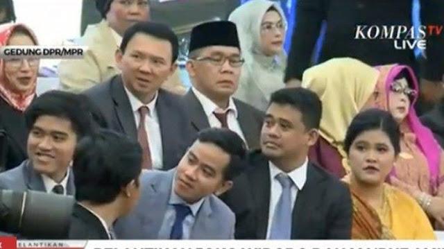 Hadiri Pelantikan Presiden Jokowi, Ahok Ternyata Tamu tak Diundang DPR