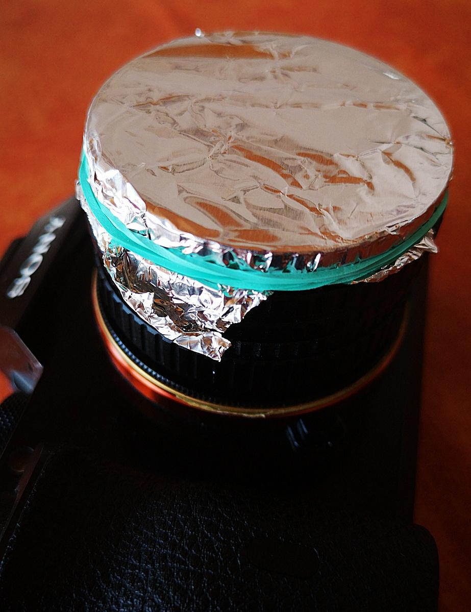 Selbstgebaute Lochblende (DIY pinhole) (3)