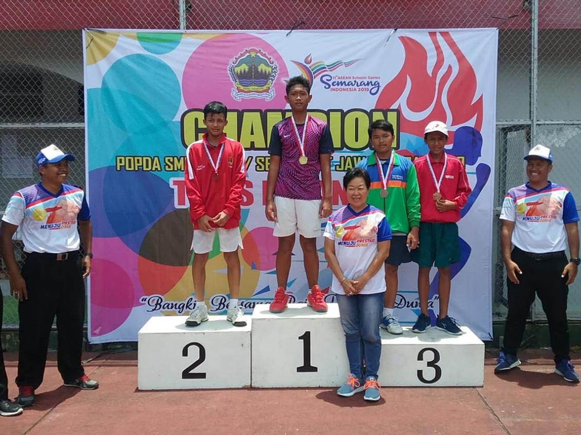 Tito Zuhda Irhami Sabet Medali Emas POPDA Jateng