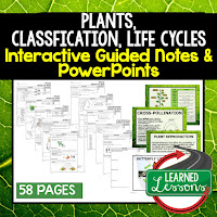 Life Science, Biology Guided Notes and PowerPoints NGSS, Life Science, Biology, Next Generation Science Standards    ➤Science Guided Notes, Interactive Notebook, Note Taking, PowerPoints, Anticipatory Guides