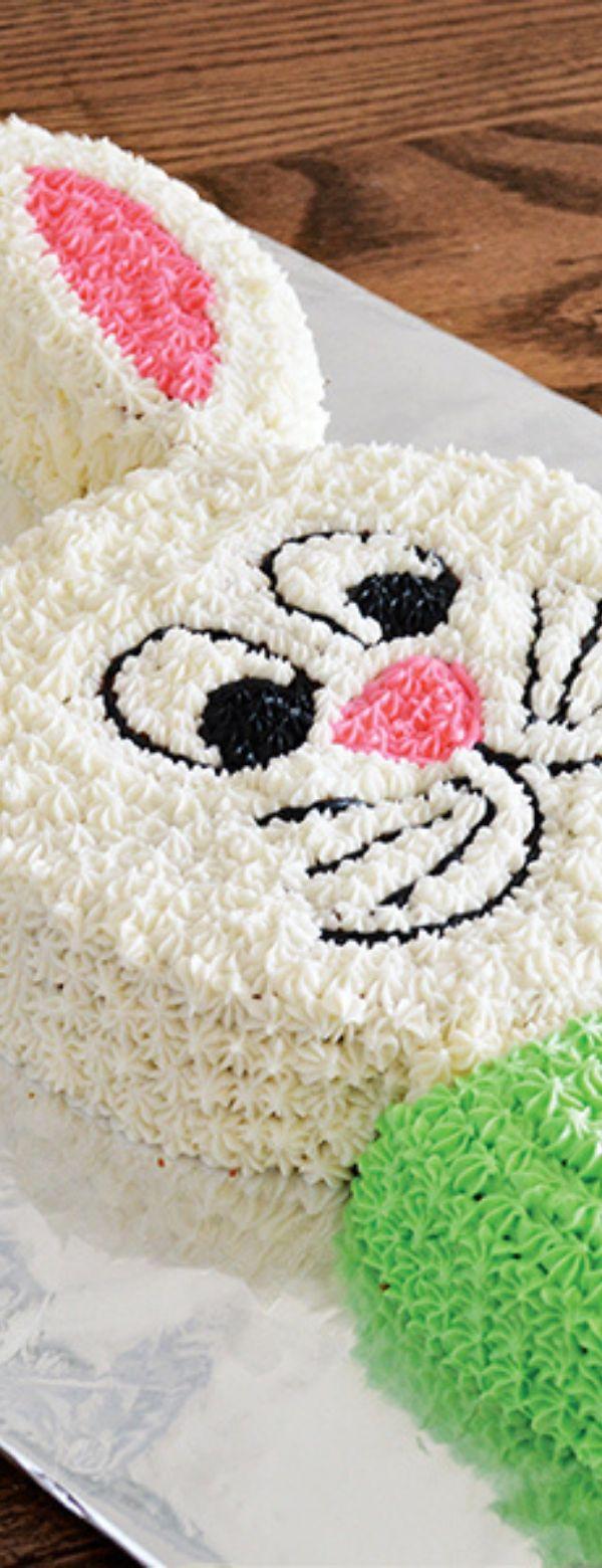 Bunny Cut-Up Cake