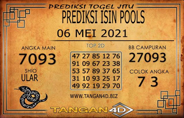 PREDIKSI TOGEL ISIN TANGAN4D 06 MEI 2021