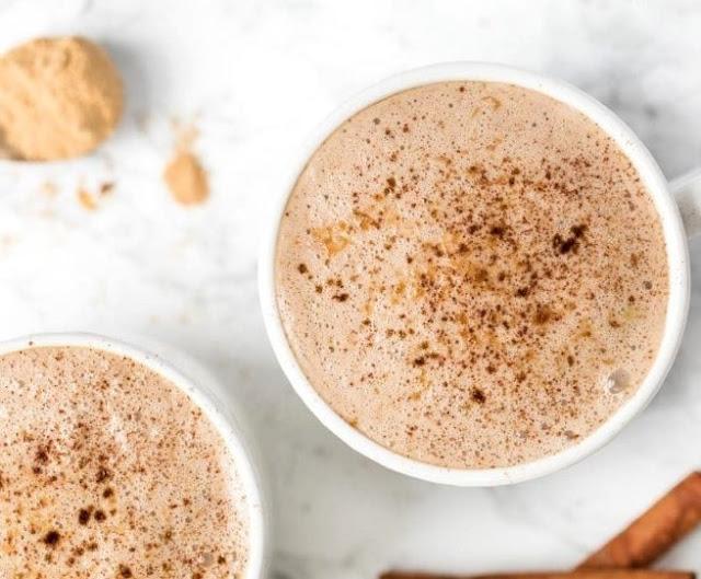 Miracle Maca Latte #latte #drinks