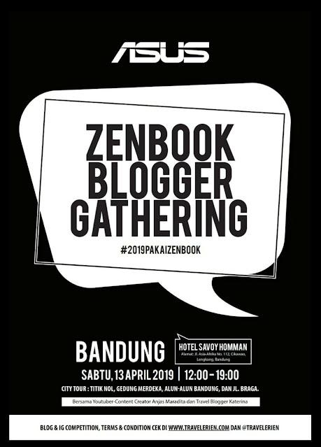 asus zenbook blogger gathering