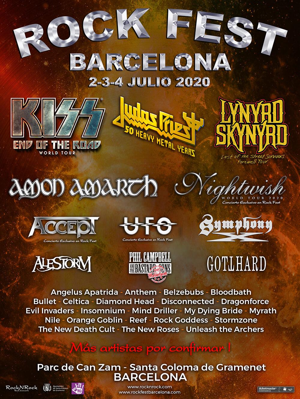 Rockfest 2021 Esiintyjät