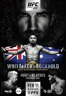 UFC 221 Romero Vs Rockhold HDRip NTSC Latino