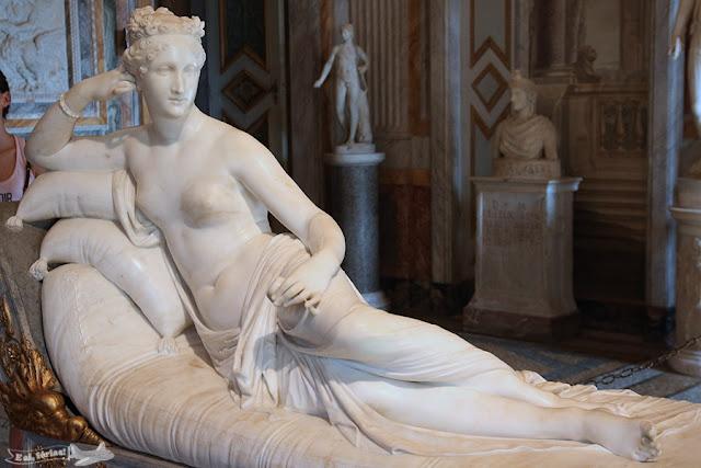 Galleria Borghese, Villa Borghese Pinciana, Roma, Itália