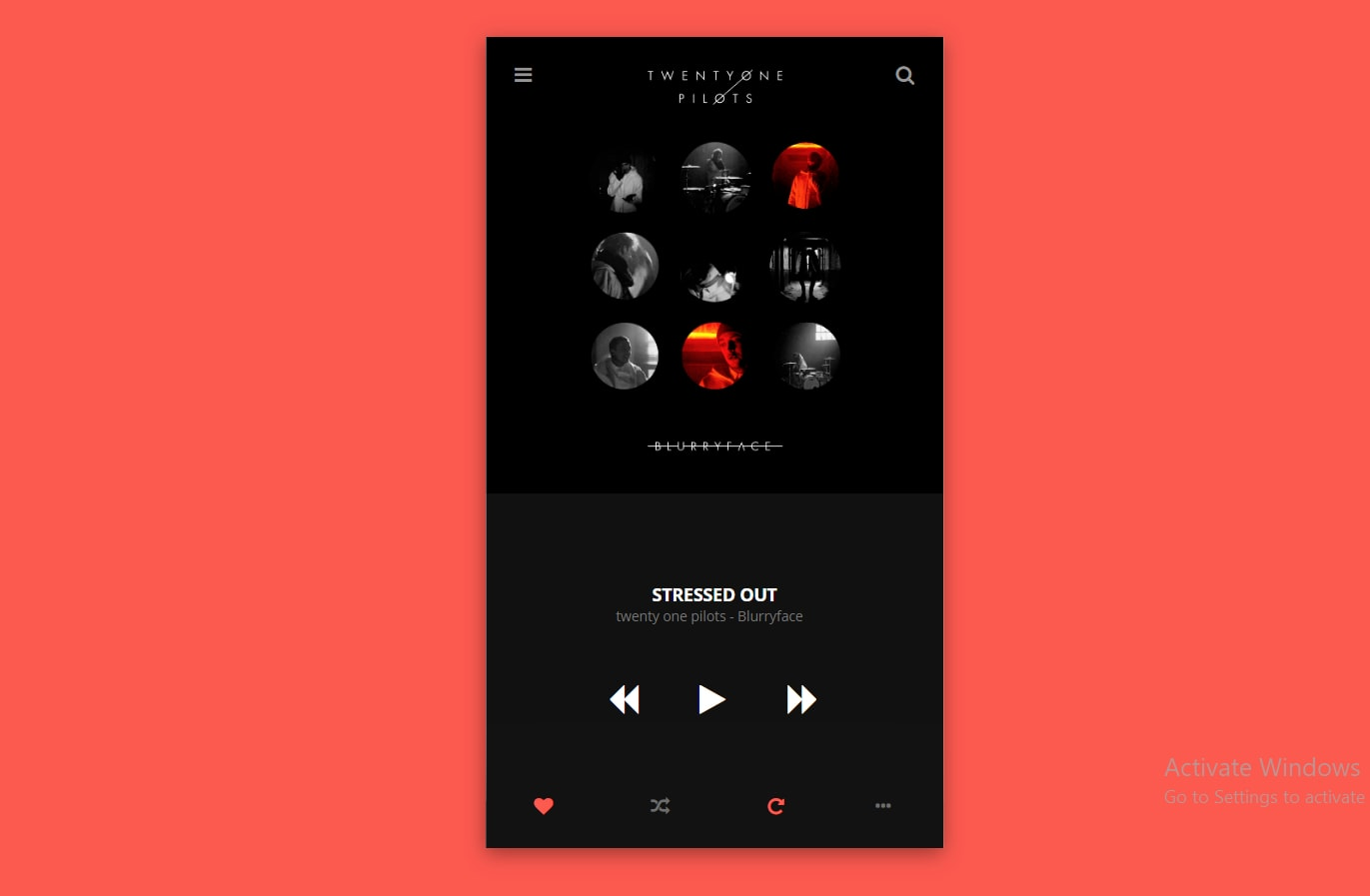 Make A Music Player Using HTML and CSS [With Code]