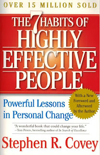 The 7 Habits of Highly Effective People by Stephen R. Covey - book cover