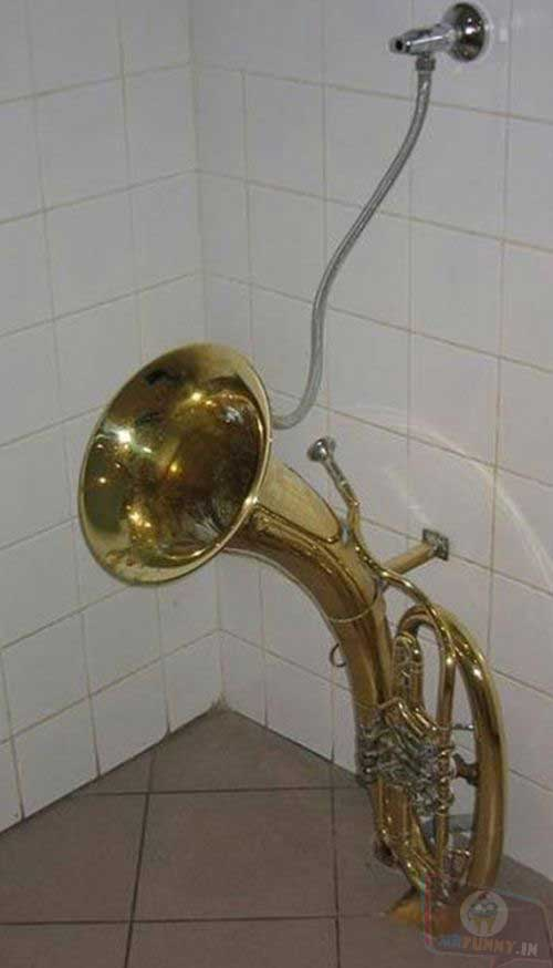 When you are not pleased with the orchestra tuba