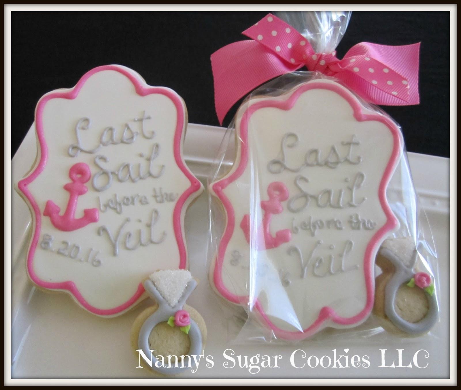 Nannys Sugar Cookies Llc June 2016