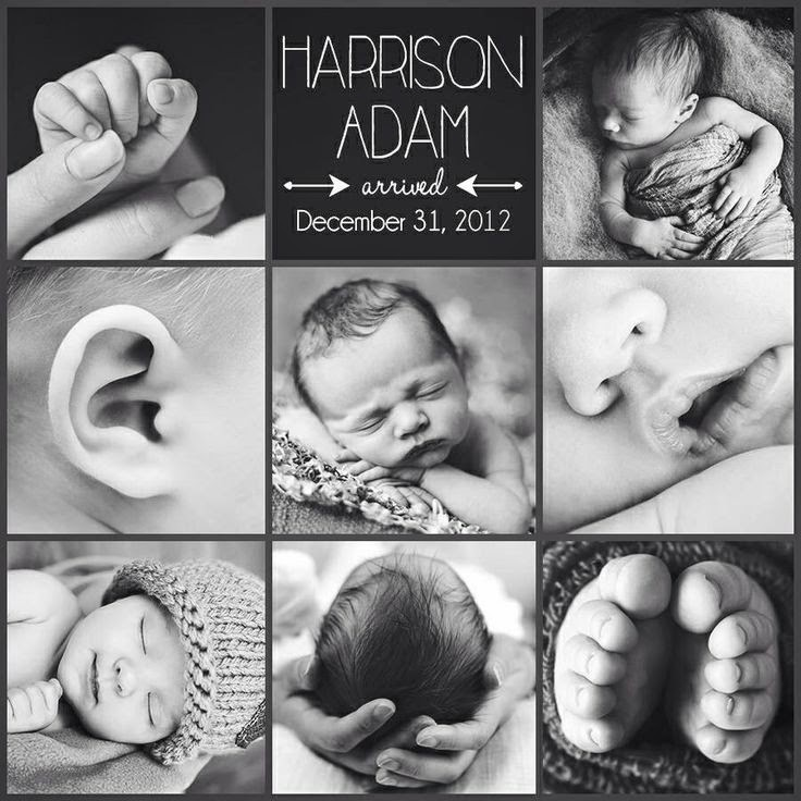 10 really creative Birth Announcements… including my own ...