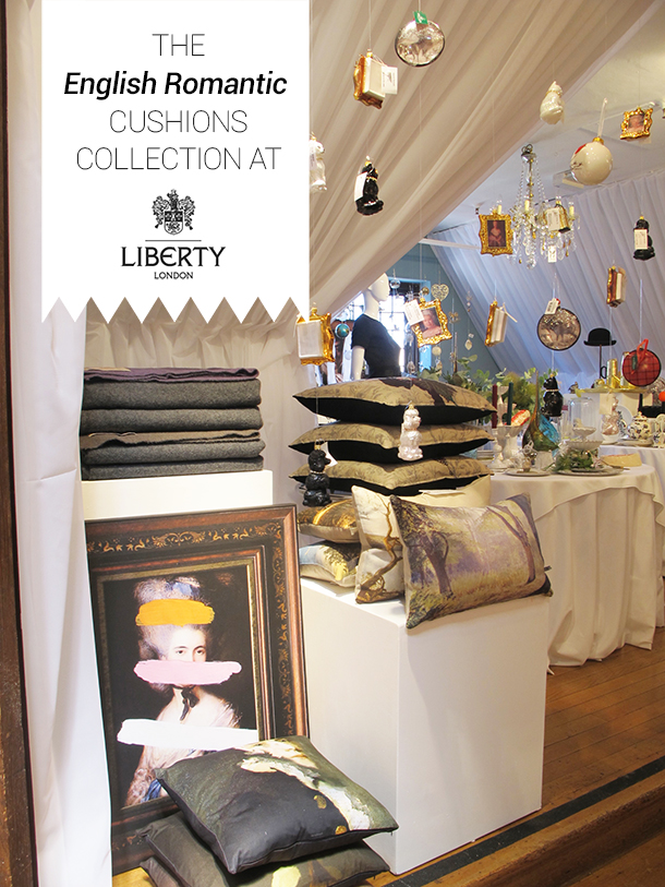 Liberty london, shopping in london