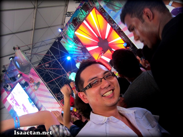 Isaac Tan at Future Music Festival Asia 2012 Sepang