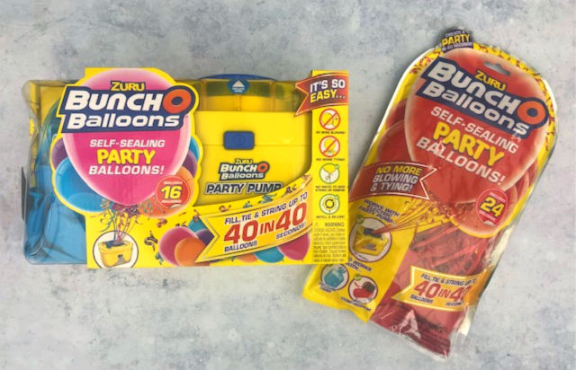 Bunch O Balloons Self-Sealing Balloons Starter Kit And Refill