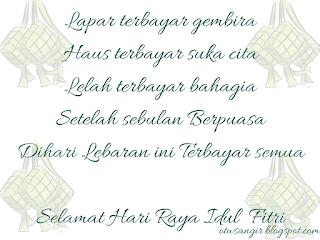 Ucapan Selamat hari Raya Idul Fitri Yang Paling Menyentuh Hati