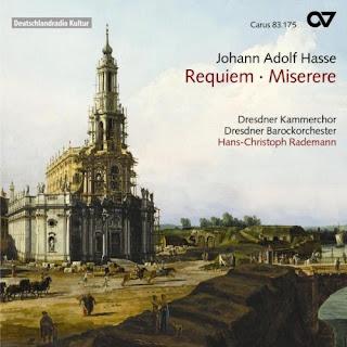 Johann Adolf Hasse: Requiem In E Flat Major/Miserere In D Minor