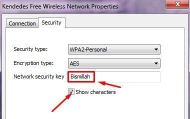 Cara mengetahui password wifi di Windows