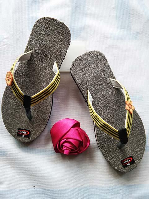 Sandal Lisban Spon SHM Wanita WHY - Grosir Sandal Murah Online