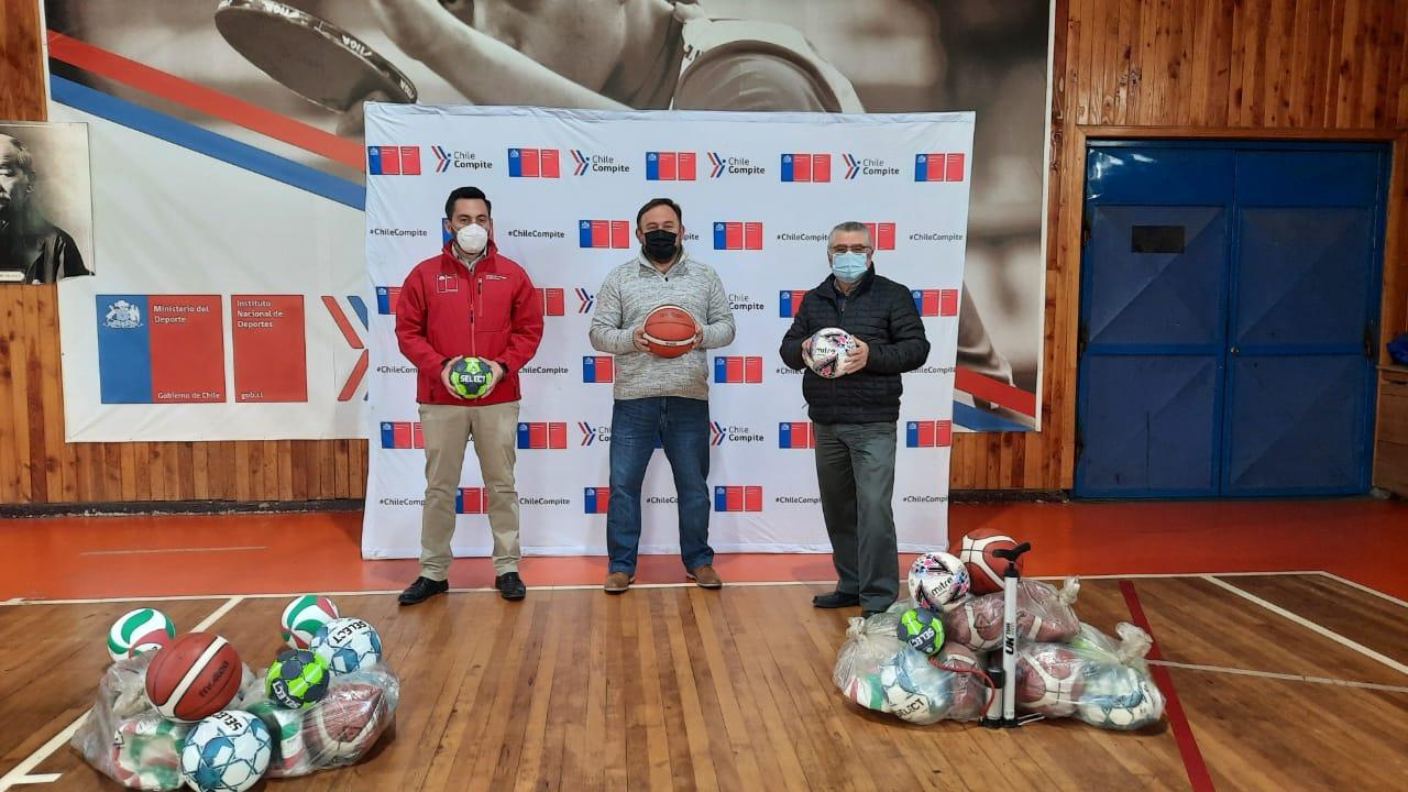 Mindep IND entregó implementación deportiva a la Provincia de Llanquihue