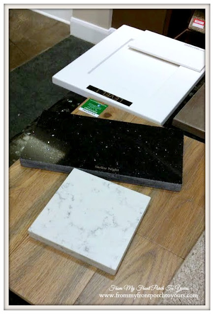 Building a Suburban Farmhouse- Kitchen-Shaker Cabinets-Silestone-From My Front Porch To Yours