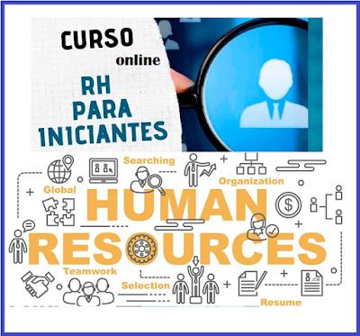 Curso Online de RH para Iniciantes - Curso Livre de Recursos Humanos R&S/T&D
