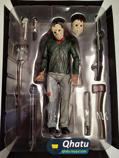 "(Bs. 180) Jason: Friday the 13th Part 3 ""3D"" (Neca Figura Original) #QT19"