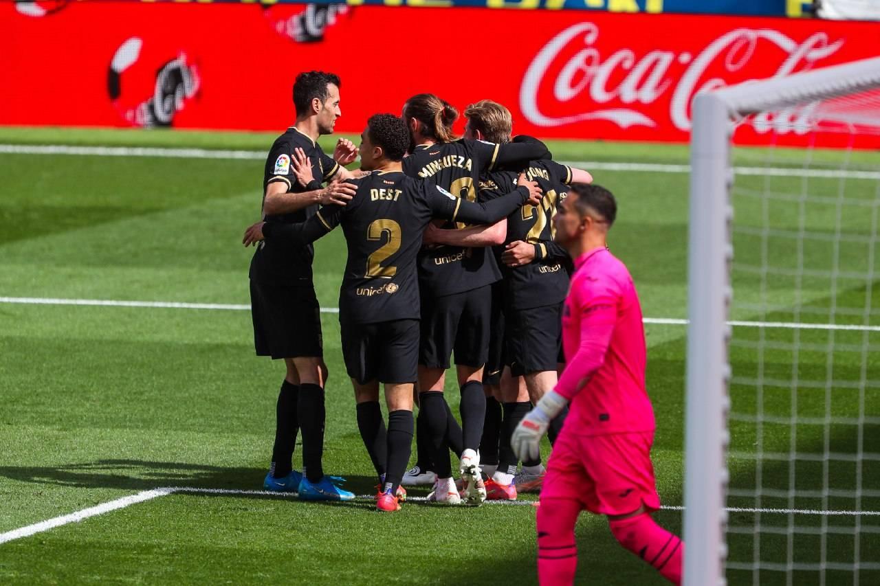 أهداف برشلونة ضد فياريال